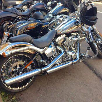 Ponteiras para Harley Davidson CVO Breakout