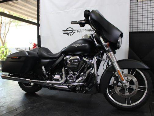 Coletor Especial para Harley Davidson Touring sem Catalisador (Foto: Instalado em uma Street Glide)