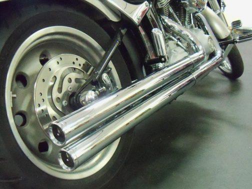 Escapamento para Harley Davidson FX K10 Longo Cromado