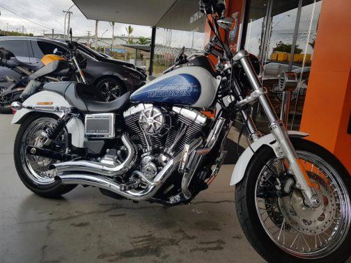 Escapamento para Harley Davidson Lowrider K10 Curvo Cromado