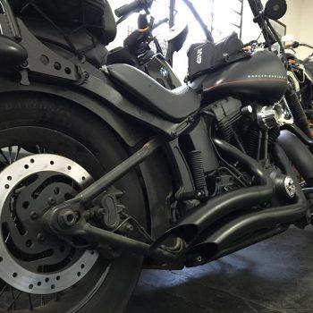 Escapamentos para Harley Davidson Softail Blackline (Até 2017)