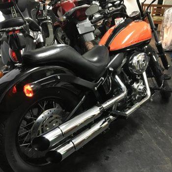 Ponteiras para Harley Davidson Softail Blackline (Até 2017)