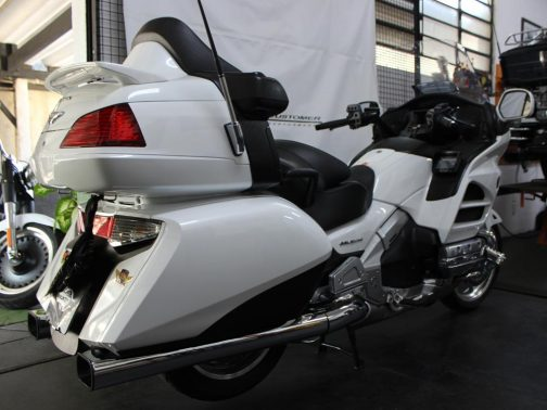 Ponteiras para Honda Goldwing Alligator Cromadas