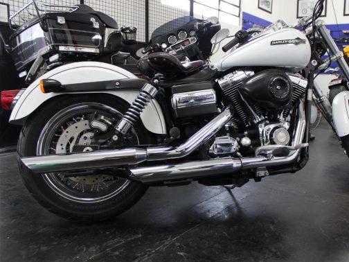 """Ponteiras para Harley Davidson Superglide 3"""" Cromadas Corte Baixo"""