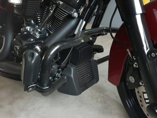 Protetor de Motor para Harley Davidson Road Glide Special Preto Pequeno
