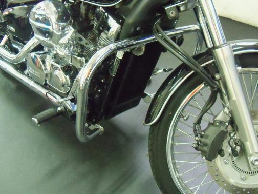 Protetor de motor para Honda Shadow 750 Tradicional Cromado