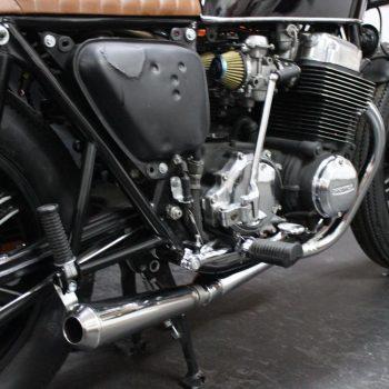 Escapamento para Honda CB750 Four Café Racer – Projeto Especial