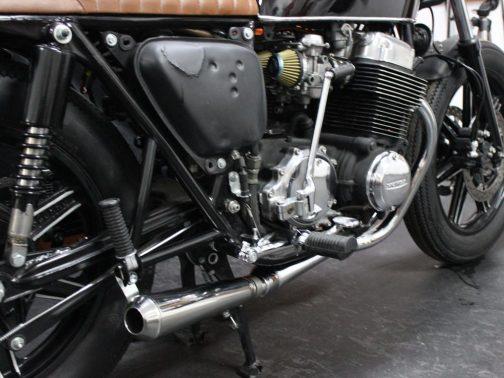 Escapamento para Honda CB750 Four Café Racer 4x1 em Inox com Ponteira Cônica