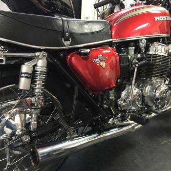 Escapamento para Honda CB750 Four – Projeto Especial