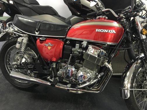 Escapamento para Honda CB750 Four 4x1