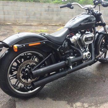 Escapamento para Harley Davidson Breakout (2018) – Projeto Especial