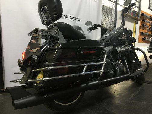 Escapamento para Harley Davidson Heritage 2x1 Rabo de Peixe T-Black