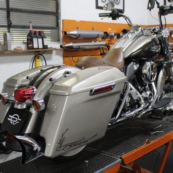 Escapamento para Harley Davidson Road King – Projeto Especial