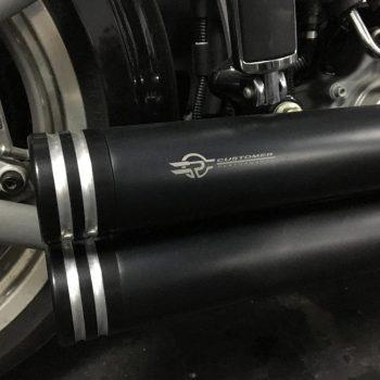 Escapamento para Harley Davidson Rocker – Projeto Especial