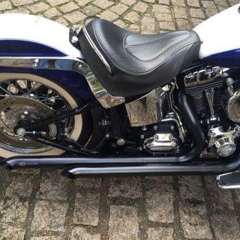 Escapamento para Harley Davidson Deluxe (Até 2017) – Projeto Especial