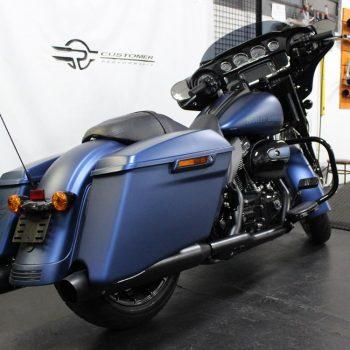 Escapamento para Harley Davidson Street Glide 115 Anos – Projeto Especial