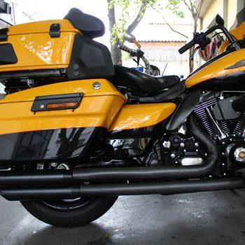 Escapamento para Harley Davidson Ultra Limited – Projeto Especial