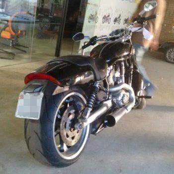 Escapamento para Harley Davidson V-Rod Muscle – Projeto Especial
