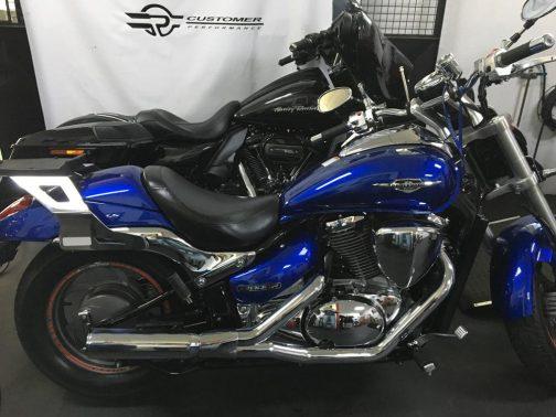 Escapamento para Suzuki M800 2x1 Cromado