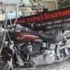 """Guidão para Harley Davidson Deluxe 18"""" cromado"""