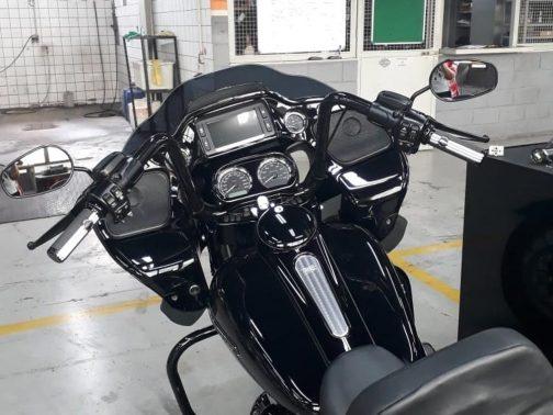 """Guidão para Harley Davidson Road Glide Special 14"""" Preto"""