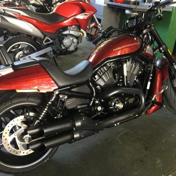 Ponteiras para Harley Davidson V-Rod Night Rod – Projeto Especial