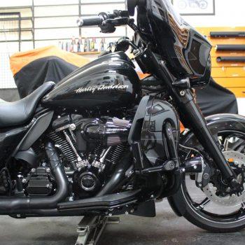 Ponteiras para Harley Davidson Street Glide CVO – Projeto Especial