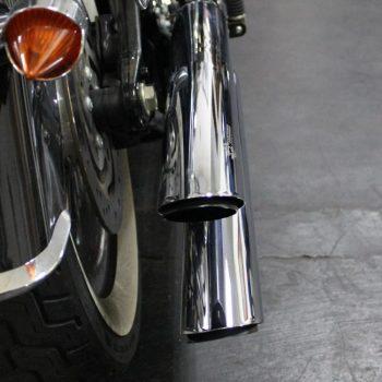 Ponteiras para Harley Davidson Softail Deluxe – Projeto Especial