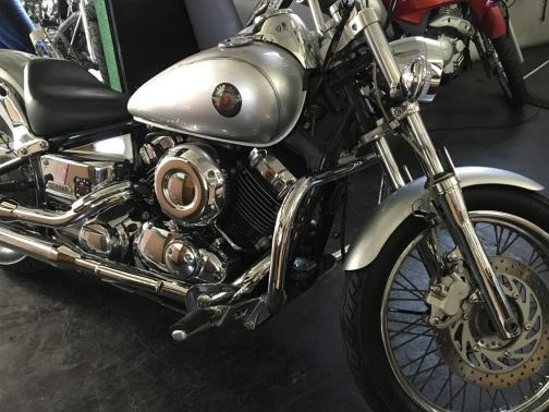 Protetor de Motor para Yamaha Dragstar 650 Tradicional Cromado