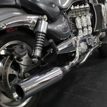 Escapamento para Triumph Rocket III – Projeto Especial